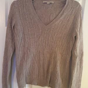 Tan women's sweater